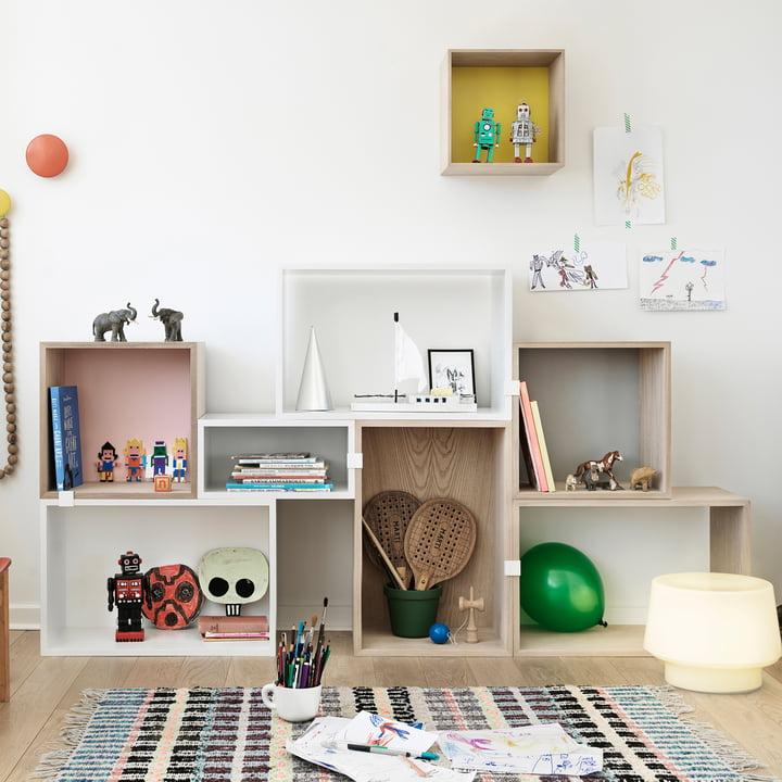 Muuto - Stacked Regalsystem - Kinderzimmer