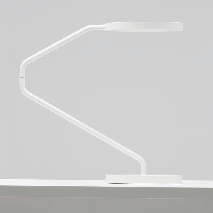 Wästberg - Irvine Tischleuchte w082 weiss, Seitenansicht