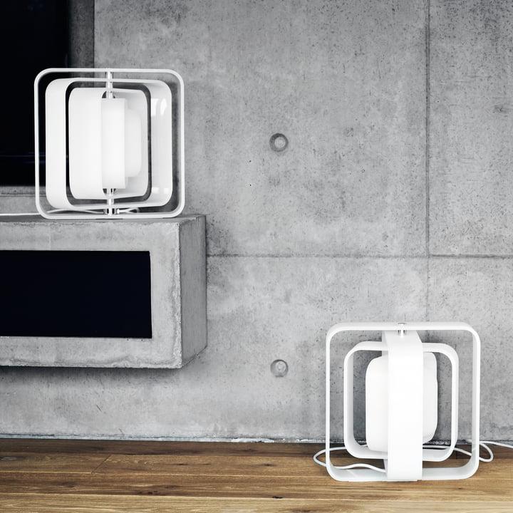 BeDesign - QBE-Light Tischleuchte, matt weiss