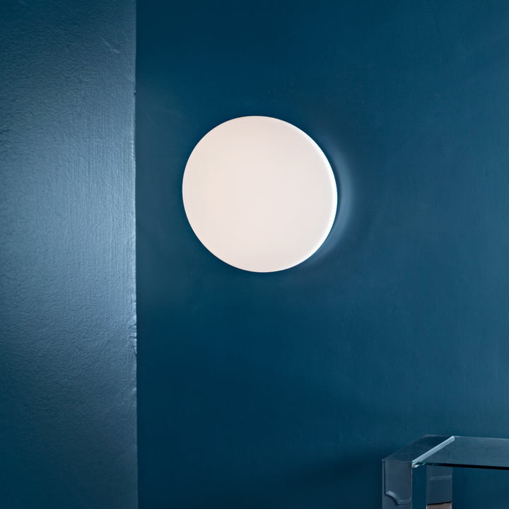 Flos - Clara Wand- und Deckenleuchte LED, weiss ohne Dekoring