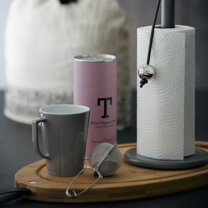 Rosendahl - Grand Cru Service Becher, staubgrau mit Teeei
