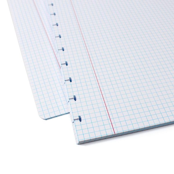 Atoma - Nachfüllpack zum Basic Notizbuch, Enlageblätter kariert