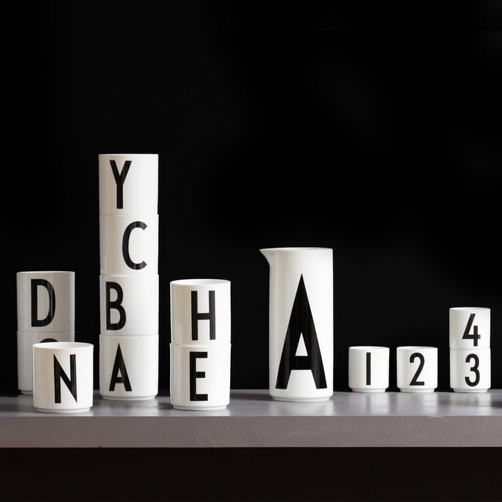 Die vielfältigen Porzellan-Produkte des Herstellers Design Letters