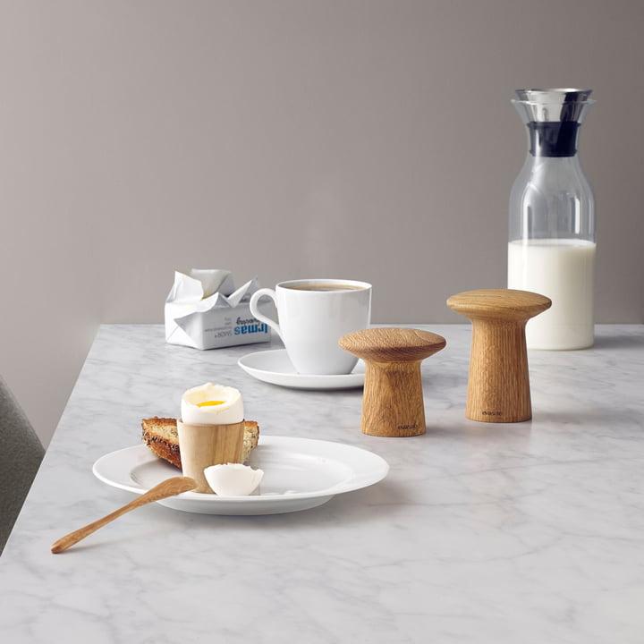 Stil auf dem Frühstückstisch