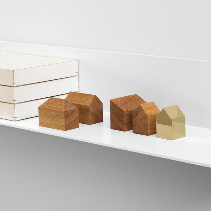 AC10 Häuser in verschiedenen Materialien & Formen