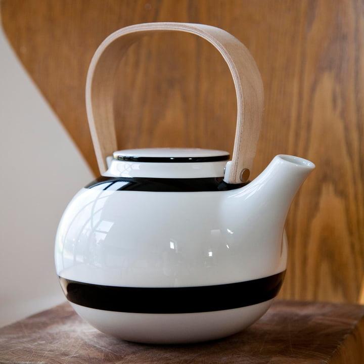 Kähler Design - Omaggio Teekanne 1 L, schwarz
