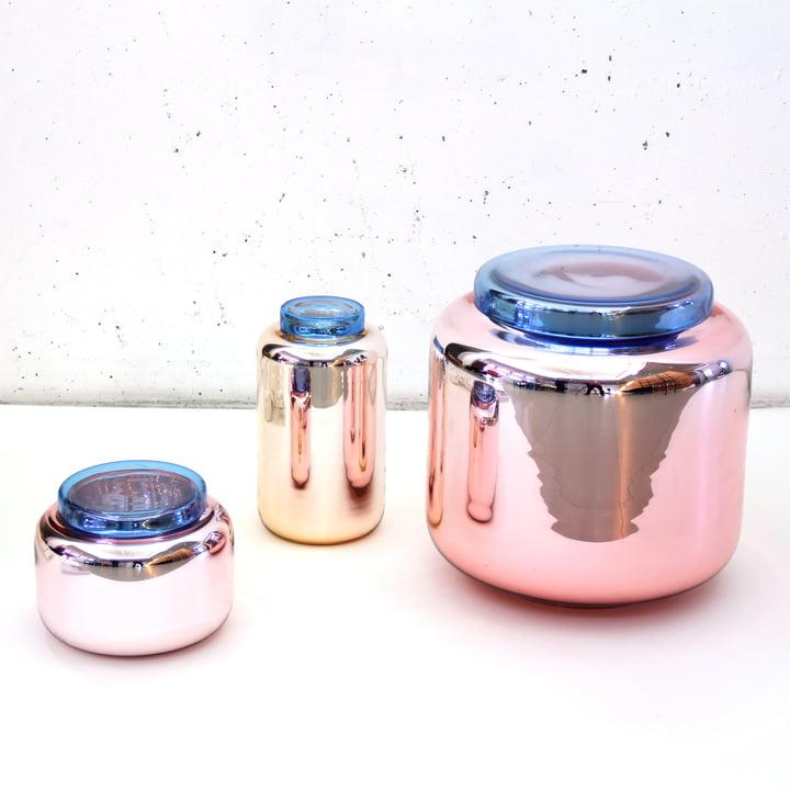 Container Vasen und Beistelltisch