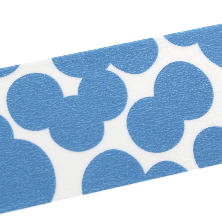 Masking tape mit Soda Water Blue Muster