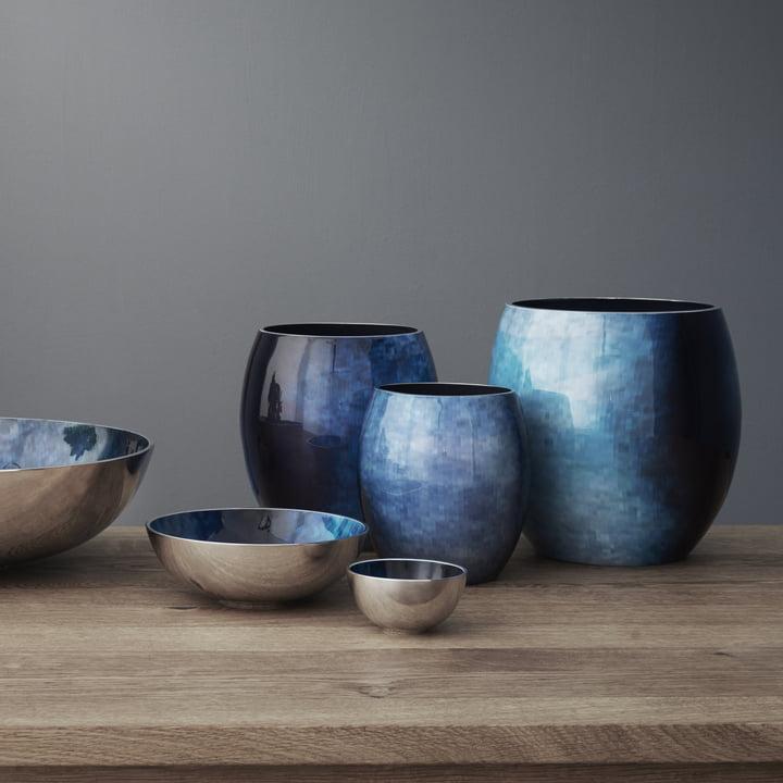 Stockholm Horizon Serie in blau-grün Nuancen