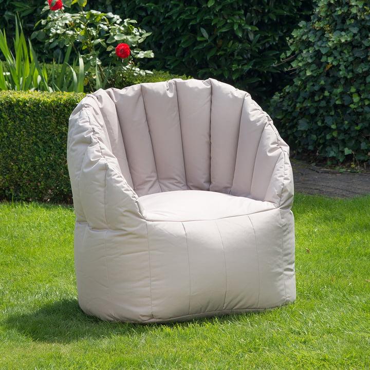 Shell Sessel für den Garten