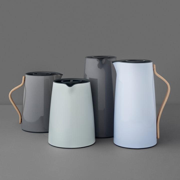 Die Stelton - Emma Isolierkannen - Tee-Isolierkannen und Kaffee-Isolierkannen