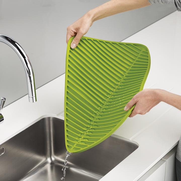Faltbare Abtropfmatte für den Abwasch