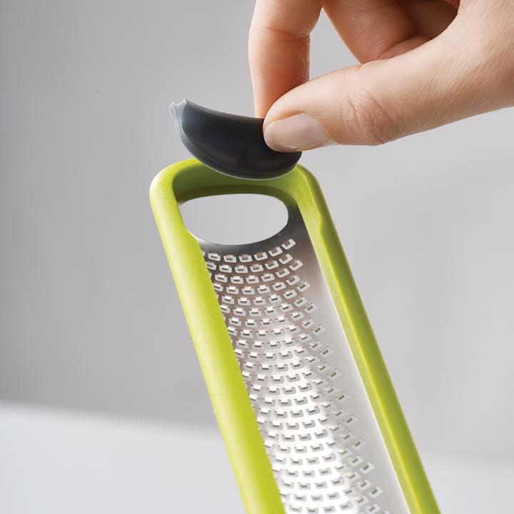 Handi-Zest Mini-Reibe mit Klingenwischer