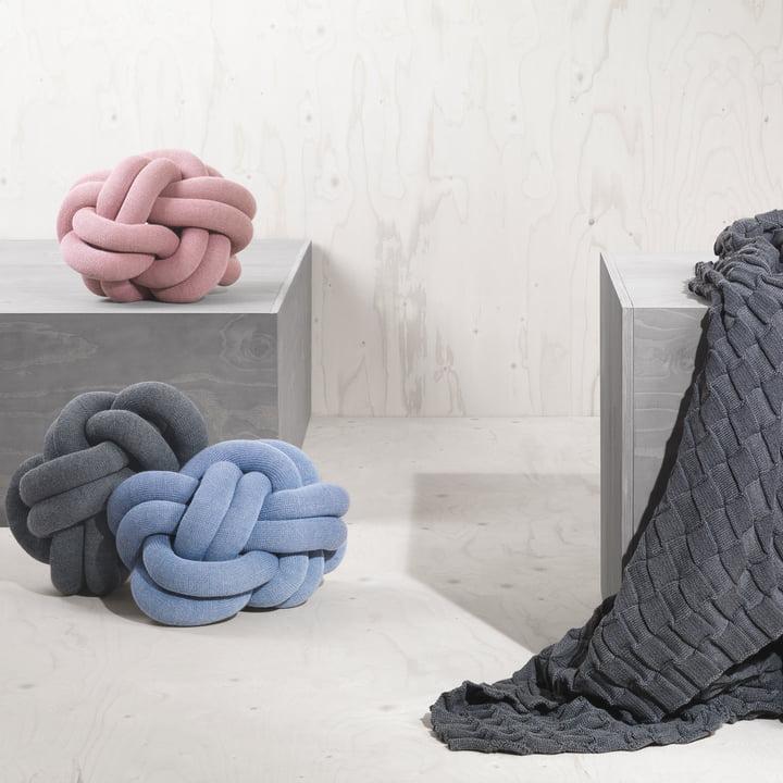 Das Knot Kissen von Design House Stockholm
