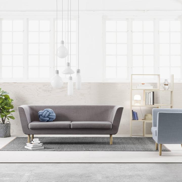 Nest Sofa mit Extend Regal
