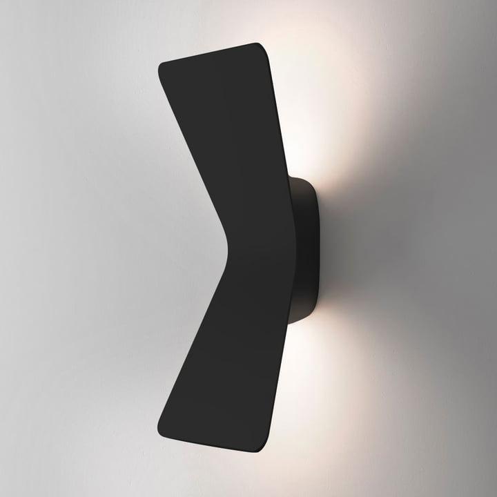 Flex LED-Wandleuchte von FontanaArte in Schwarz