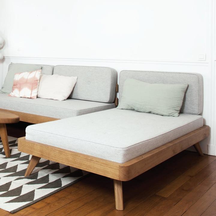 Flexibles Sofa & Tagesbett in einem