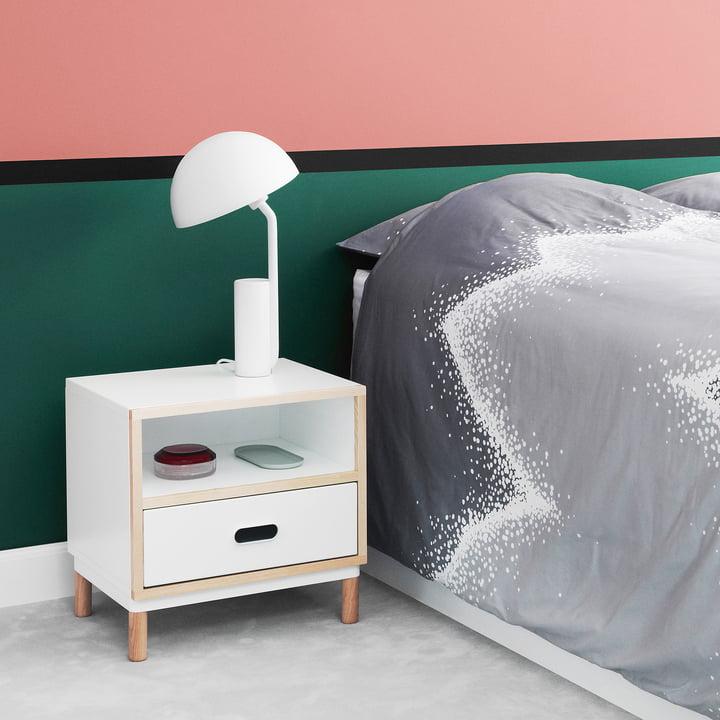 Gemütliches Ambiente im Schlafzimmer