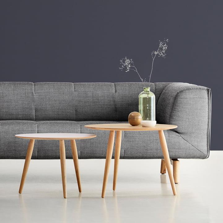 Spannende Kompositionen vor dem Remedy Sofa