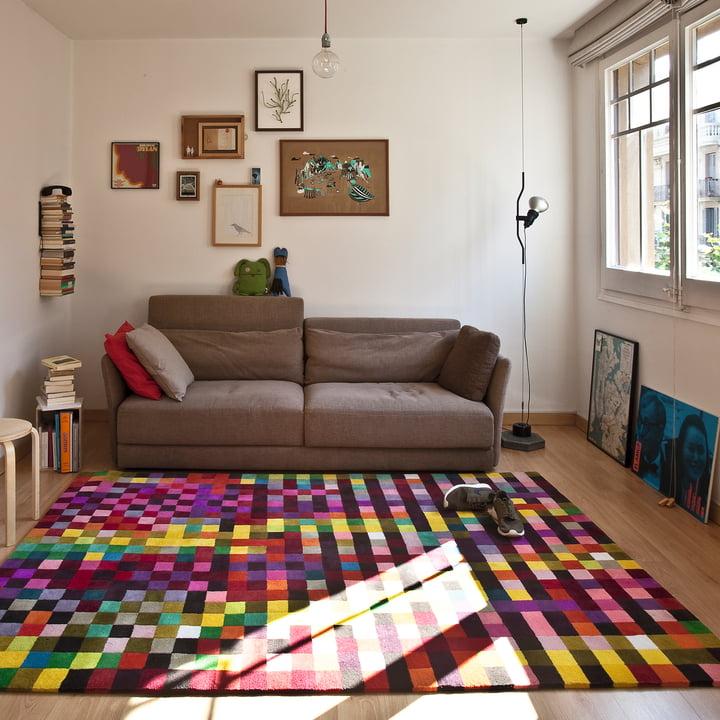 Digit 1 Teppich von nanimarquina