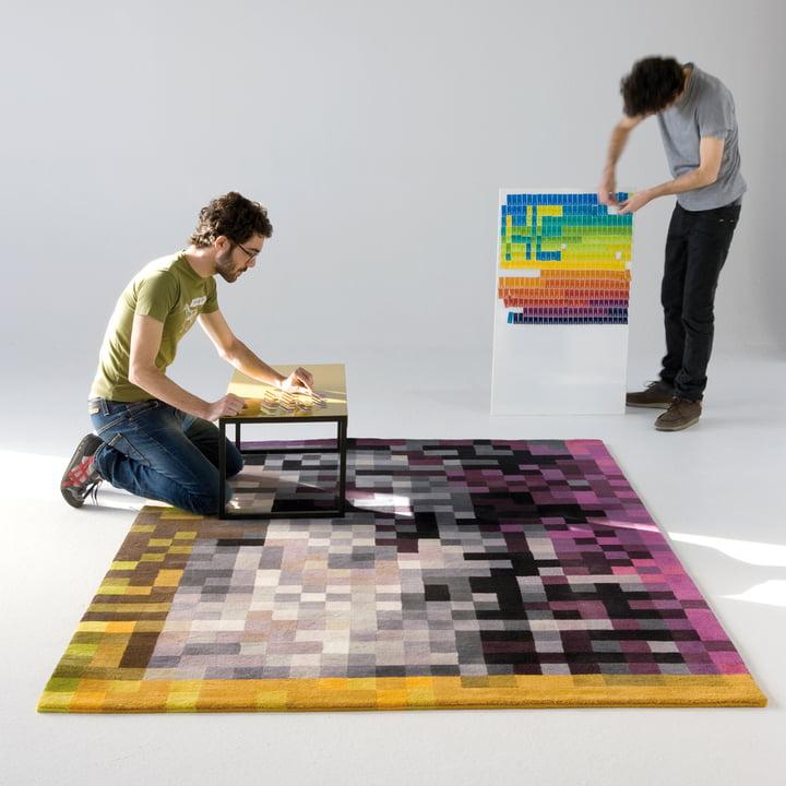 Digit 2 Teppich von nanimarquina