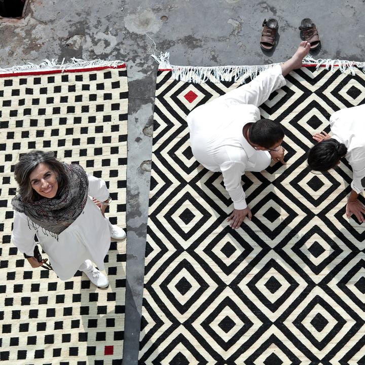 Mélange Pattern 1 und 3 von nanimarquina