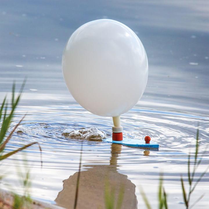 Balloon Puster auf dem See