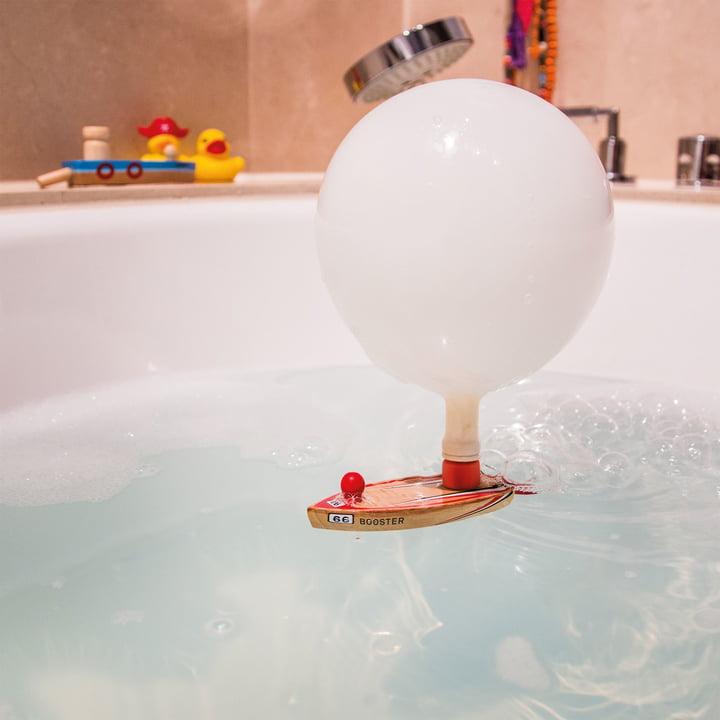 Balloon Puster in der Badewanne
