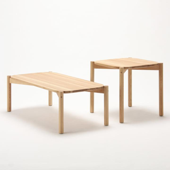 Castor Table von Karimoku New Standard