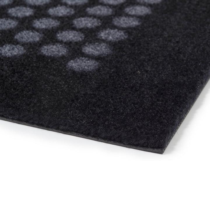 Die tica copenhagen - Dot Fussmatte in schwarz / grau