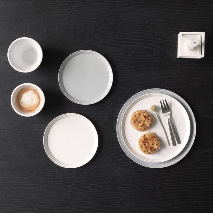 Norli Teller und Tasse von by Lassen