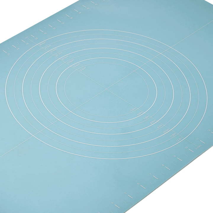 Die Joseph Joseph Design Backmatte in Blau