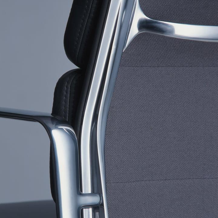 soft pad chair ea 219 b rostuhl von vitra. Black Bedroom Furniture Sets. Home Design Ideas