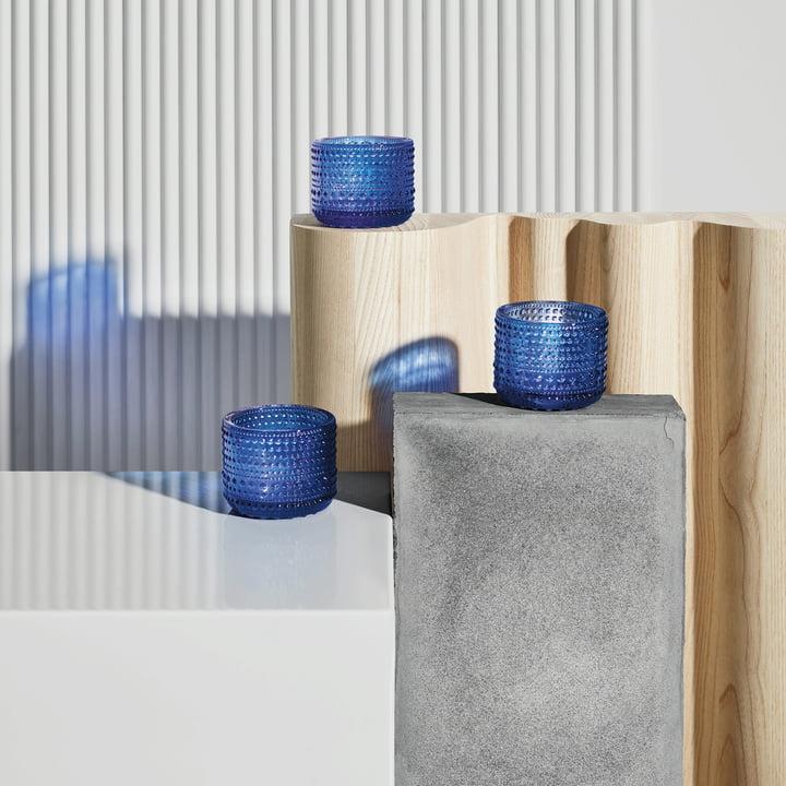 Kastehelmi Votive 64 mm von Iittala in Ultramarinblau