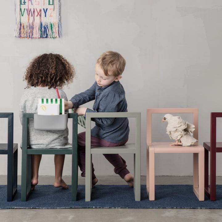 Little Architect Stuhl mit Pocket von ferm Living