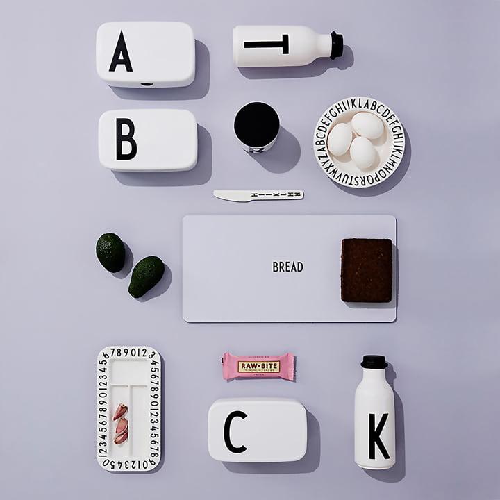 ABC Geschirr von Design Letters