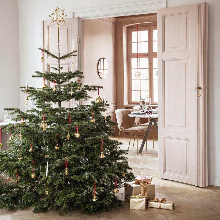 tannenbaumspitze stern von georg jensen. Black Bedroom Furniture Sets. Home Design Ideas
