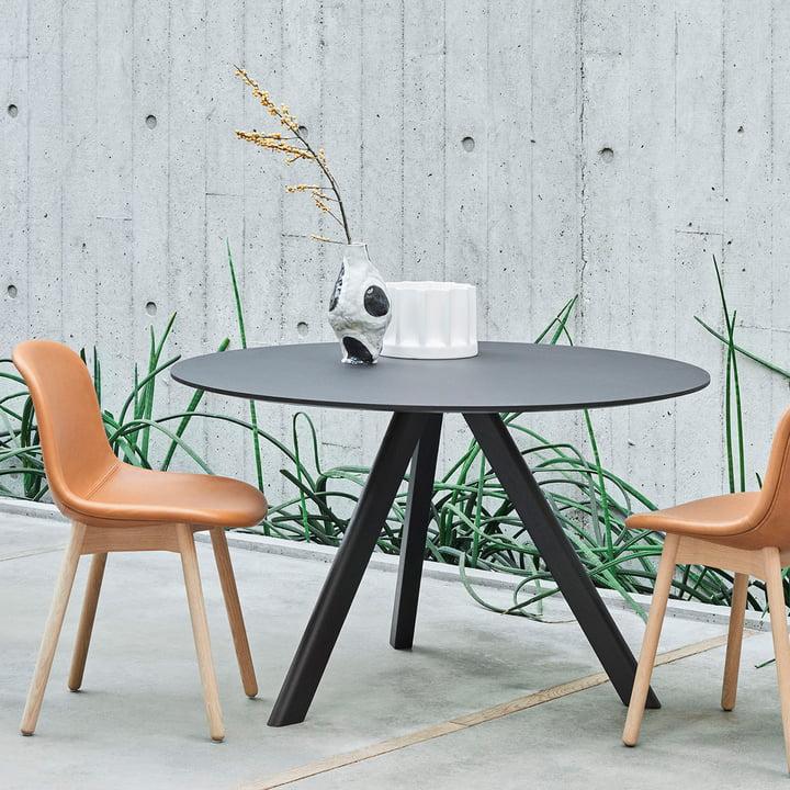 Der Hay - Copenhague CPH20 Bistrotisch mit Stühlen