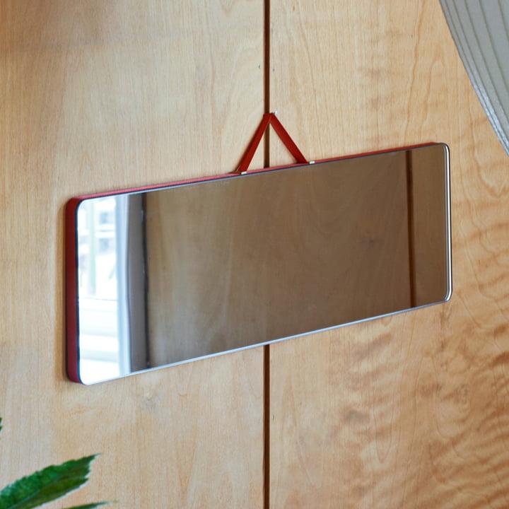 Der Hay - Ruban Spiegel Rechteckig L in rot