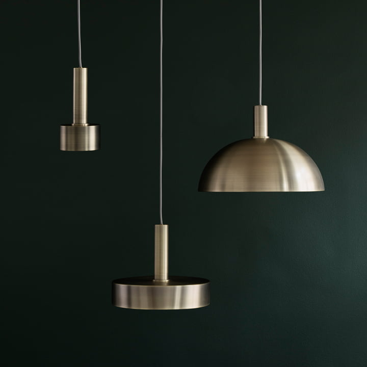 Collect Lighting von ferm Living in Messing