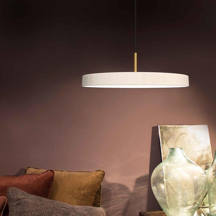 Asteria Pendelleuchte LED von Vita in Pearl