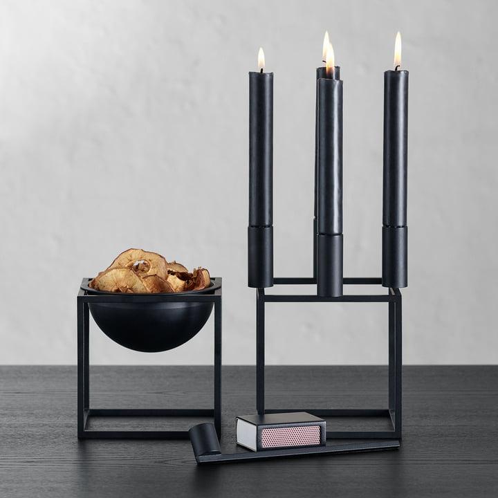 Kubus Kerzenlöscher von by Lassen