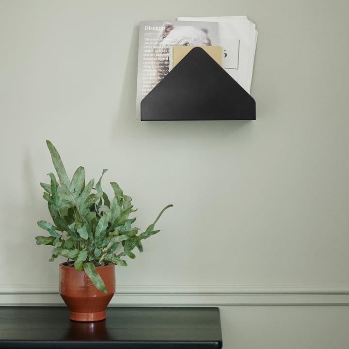 Kuvert Wandablage von Skagerak in Schwarz