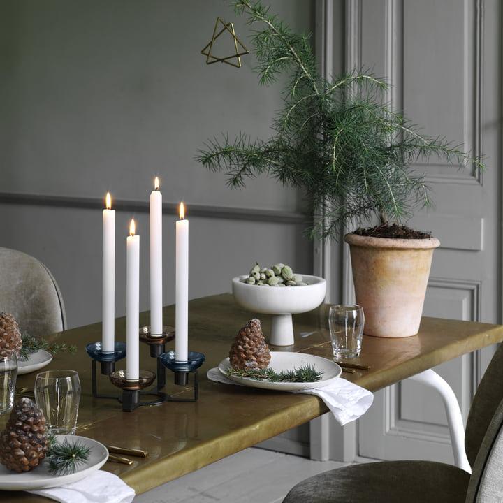 Tischdeko: Weihnachten in zauberhafter Atmosphäre