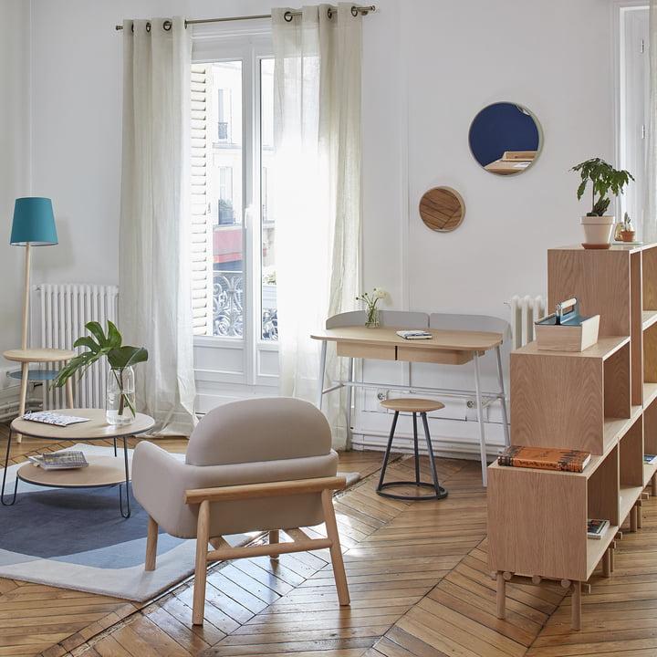 Häusliches Arbeitszimmer: So kombinieren Sie Wohnen und Arbeiten