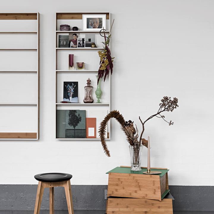 fivesquare wandregal von we do wood. Black Bedroom Furniture Sets. Home Design Ideas