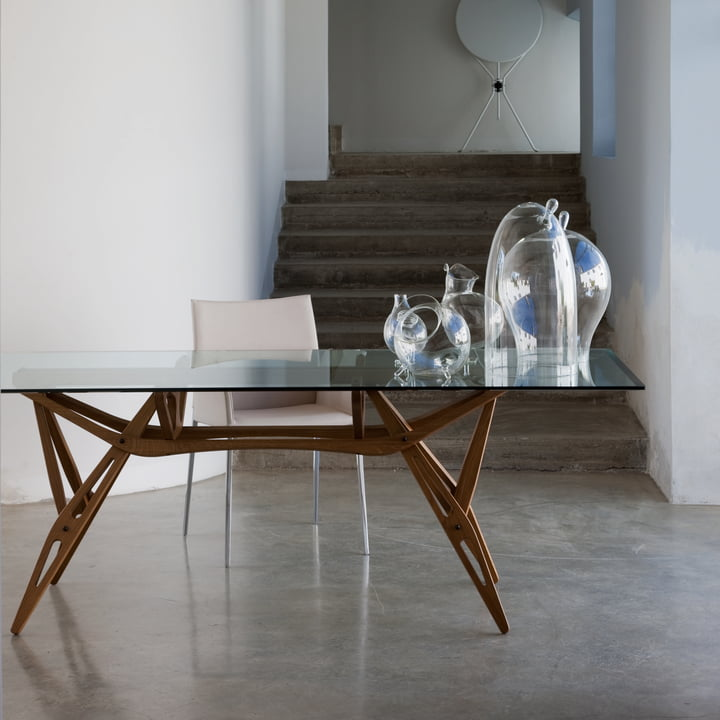 Zanotta - Reale Tisch 90 x 180 cm, Eiche natur