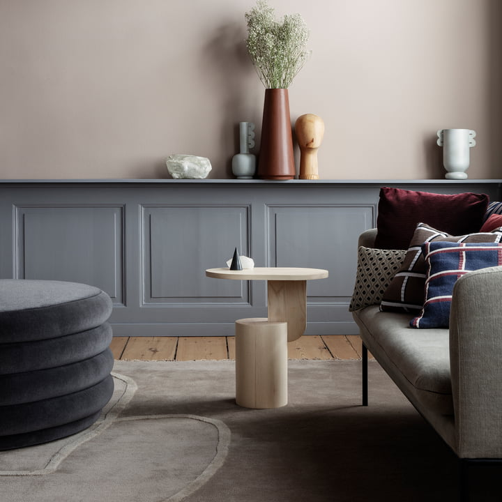salon kissen quadratisch von ferm living. Black Bedroom Furniture Sets. Home Design Ideas