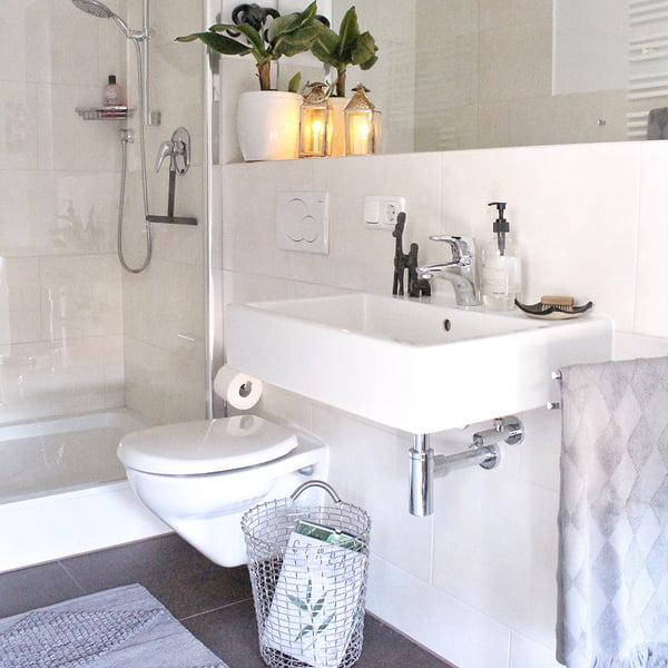 Handgemachte Badezimmer Deko