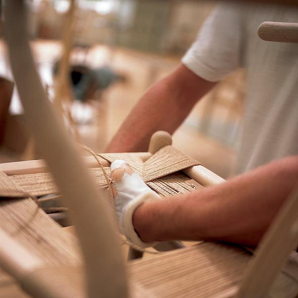 Produktion der Sitzfläche des CH24